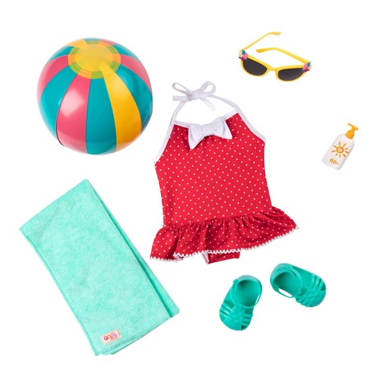 Our Generation Dolls Retro Beach Outfit
