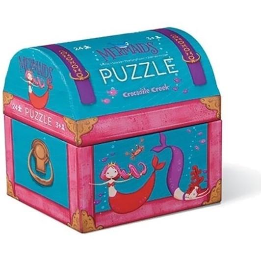 Croc Creek Mini Puzzle Mermaid 24pc