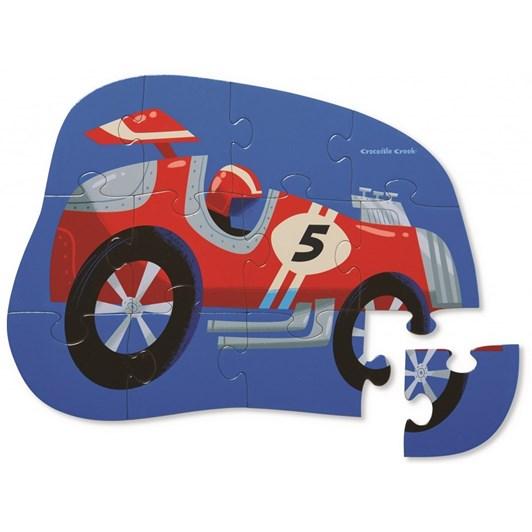 Croc Creek Mini Puzzle At the Races 12pc