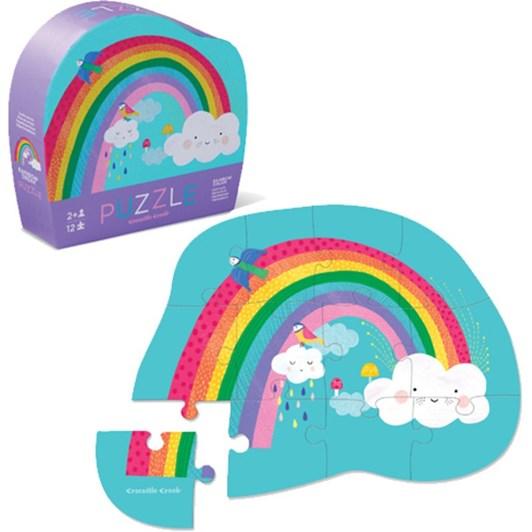 Croc Creek Mini Puzzle Rainbow 12pc