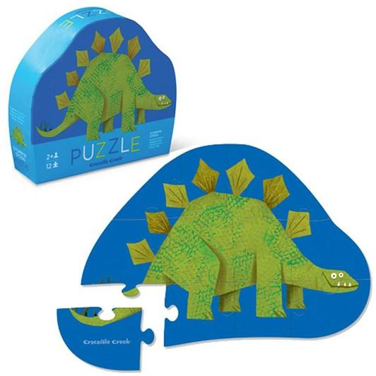 Croc Creek Mini Stegosaurus 12pc Puzzle