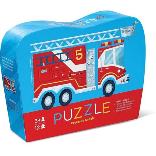 Croc Creek Mini Puzzle Fire Truck 12pc