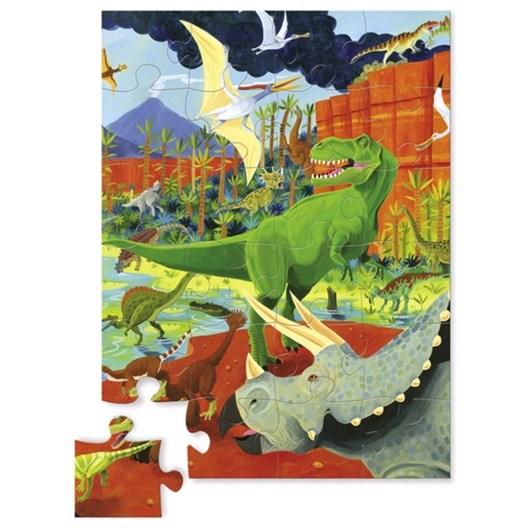Croc Creek Mini Puzzle Land of Dinosaurs 24pc