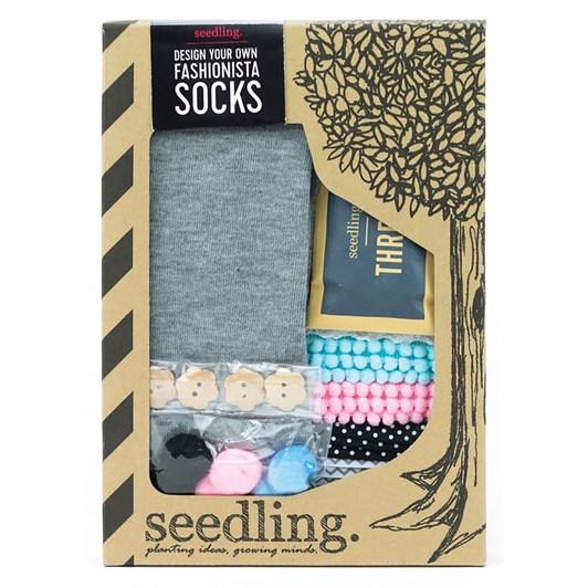Seedling Design Your Own Fashionista Socks