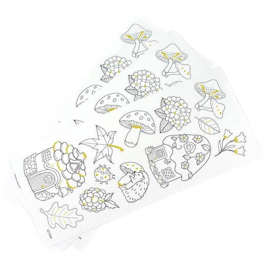 Seedling Enchanted Forest Glitter Stickers
