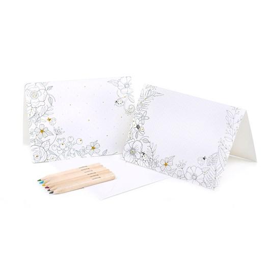 Seedling Floral Fantasia Glitter Cards