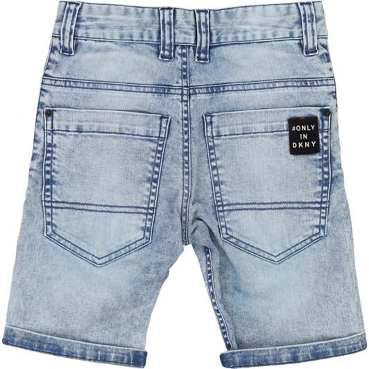 DKNY Denim Bermuda Shorts