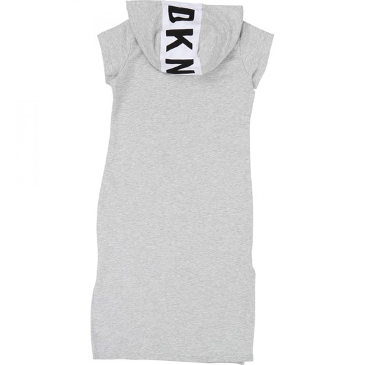 DKNY Hooded Dress