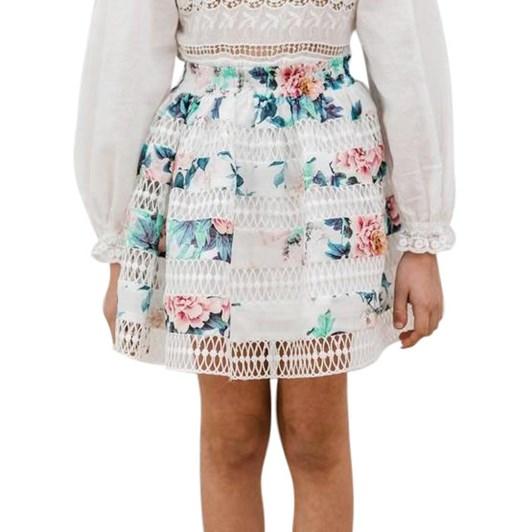 Petite Amalie Floral Print Skirt