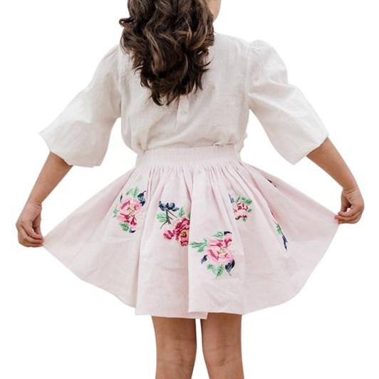 Petite Amalie Embroidered Skirt