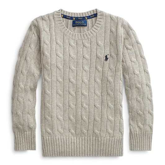 Polo Ralph Lauren Long Sleeve Cable Sweater size 10-16
