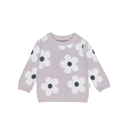 Huxbaby Floral Knit Jumper
