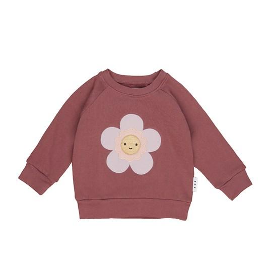Huxbaby Plum Floral Sweatshirt