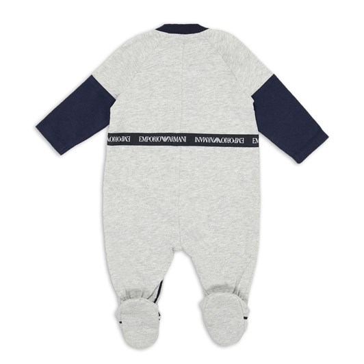 Emporio Armani Baby Suit with Logo Band