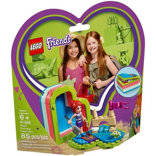 LEGO Friends Mia's Summer Heart Box