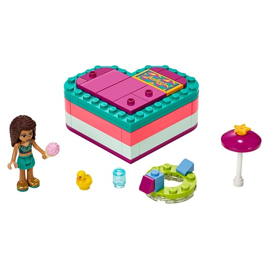 LEGO Friends Olivia's Summer Heart Box