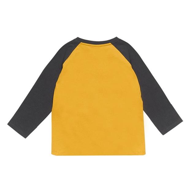 Rock Your Baby Best Buddies - Ls T-Shirt - pale mustard-cha