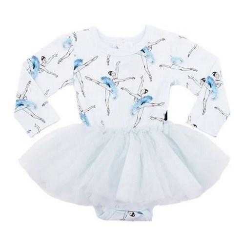 Rock Your Baby Let'S Dance - Ls Flounce Dress