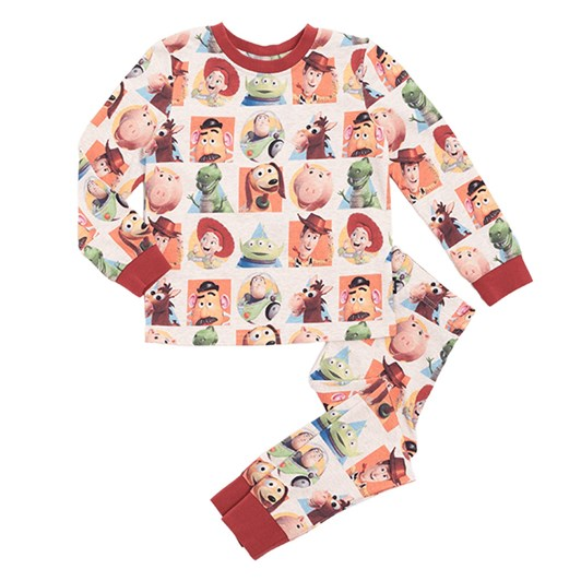 Rock Your Baby Toy Story - Ls Pj Set