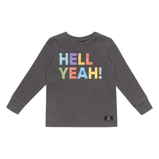 Rock Your Baby Hell Yeah! - Ls T-Shirt