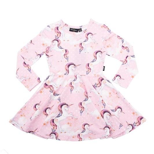 Rock Your Baby Stargazer - Ls Waisted Dress