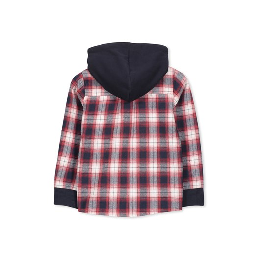 Milky Red Check Shirt