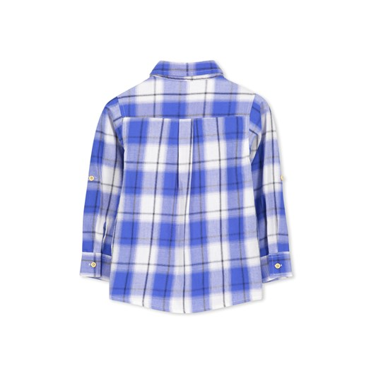 Milky Blue Check Shirt