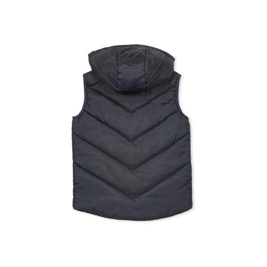 Milky Navy Puffer Vest