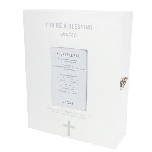 Splosh Baby Christening Keepsake Box