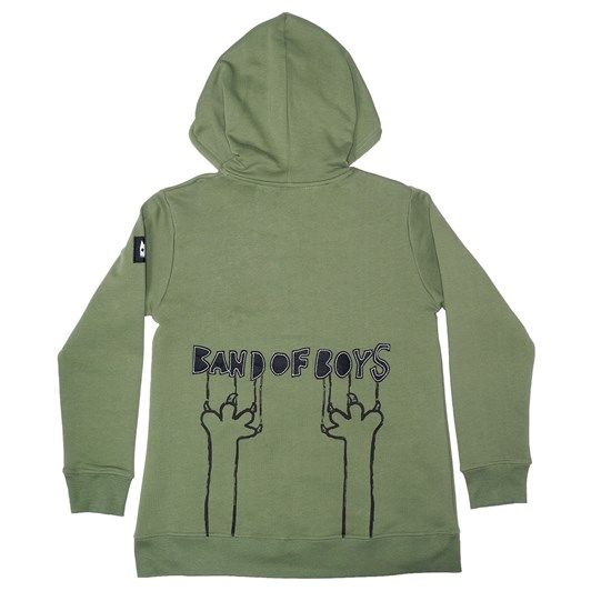 Band Of Boys Jumper Band Of Boys Stitch Zip Hood