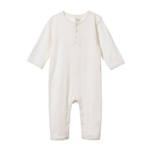 Nature Baby Pointelle Henley Pyjama Suit