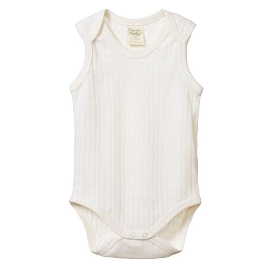 Nature Baby Pointelle Singlet Bodysuit