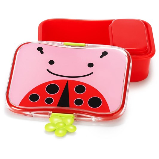 Skip Hop Zoo Little Kid Lunch Kit Ladybug
