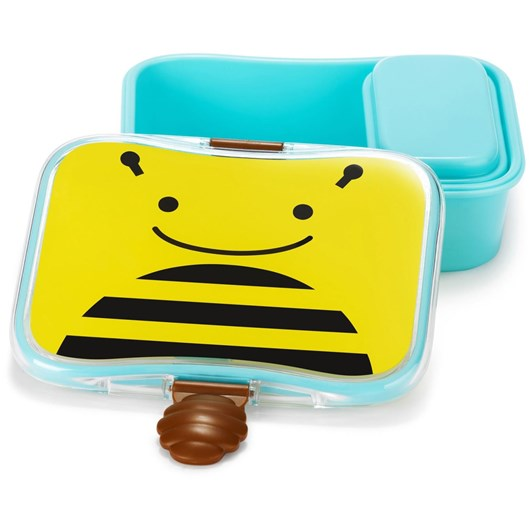 Skip Hop Zoo Little Kid Lunch Kit Bee
