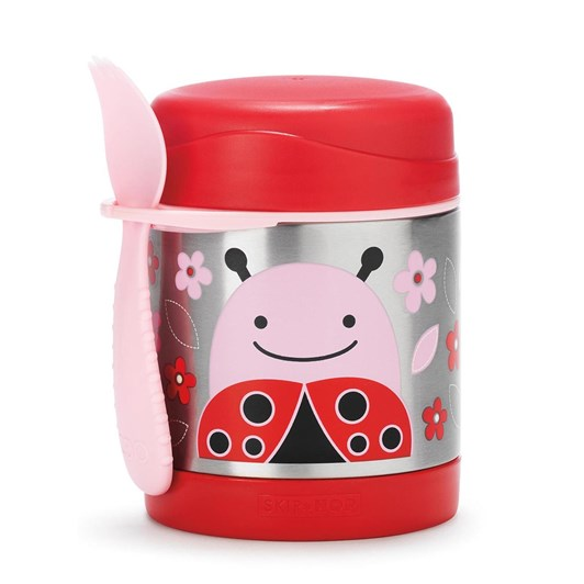 Skip Hop Zoo Insulated Little Kid Food Jar Ladybug