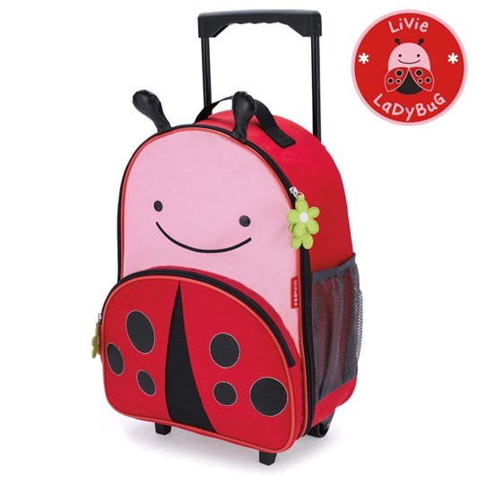 Skip Hop Zoo  Luggage Ladybug