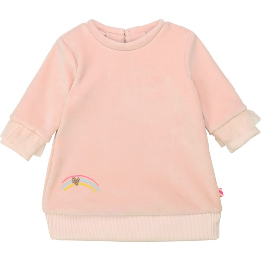 Billieblush Soft Fleece Dress with Ruffles 3M-2Y