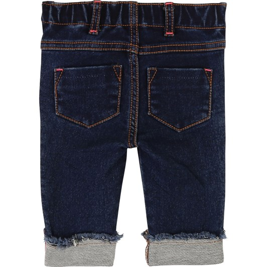 Billieblush Embroidered Denim Trousers 3M-2Y