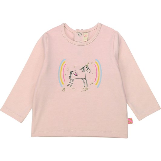 Billieblush Illustrated Cotton T-Shirt 3M-2Y