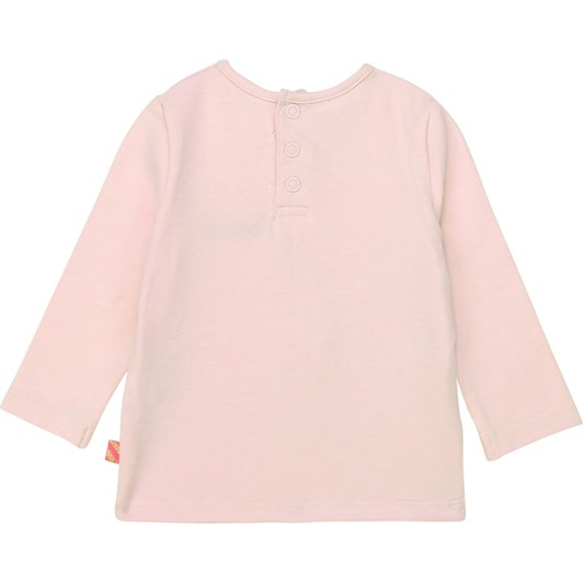 Billieblush Cotton T-Shirt with Tulle Trim 3M-2Y