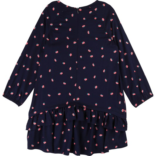 Billieblush Printed Dress with Pompoms 12 Years