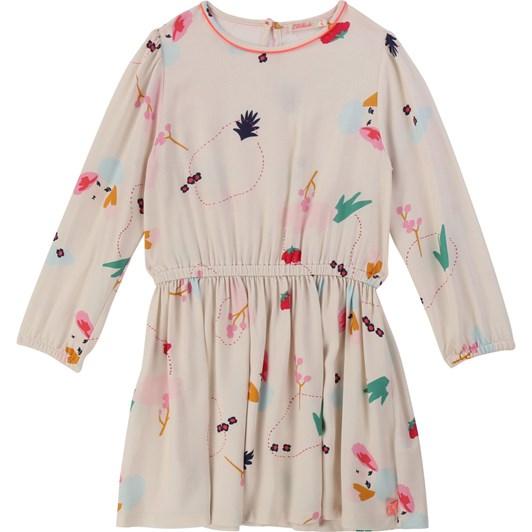 Billieblush Flared Printed Dress 3-8 Years