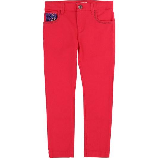 Billieblush Twill Sequin Trousers 10-12 Years