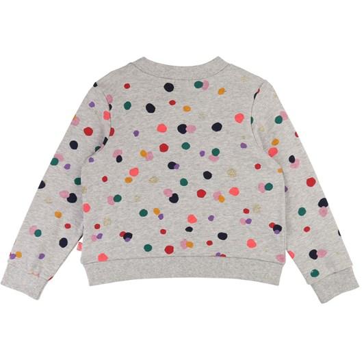 Billieblush Spotted Fleece Sweatshirt 3-8 Years