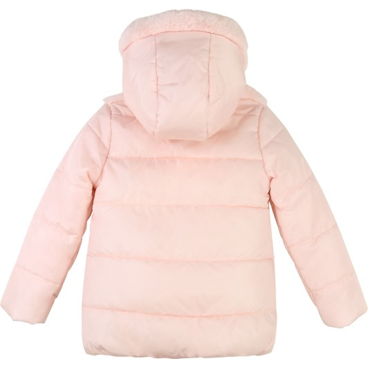 Billieblush Hooded Winter Jacket with Faux Fur 10-12 Years