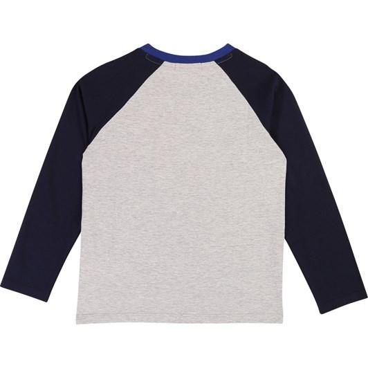Billybandit Raglan-Sleeved Cotton T-Shirt 10-12 Years