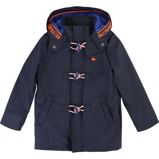 Billybandit Fleece-Lined Hooded Raincoat 3-8 Years