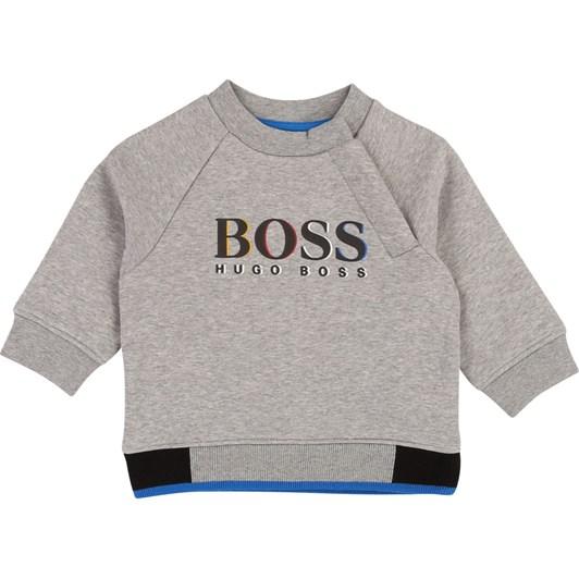 Hugo Boss Relief-Effect Sweatshirt
