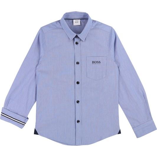 Hugo Boss Cotton Poplin Shirt 10-16 Years
