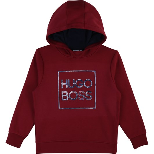Hugo Boss Hooded Fleece Sweatshirt 10-16 Years